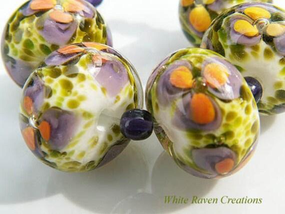 Tuscany Lampwork Beads