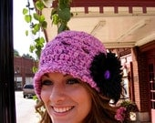 Crochet Hat Pattern All sizes Baby Toddler Womans Cloche Toque Womens Crochet Hat Digital File PDF No 52
