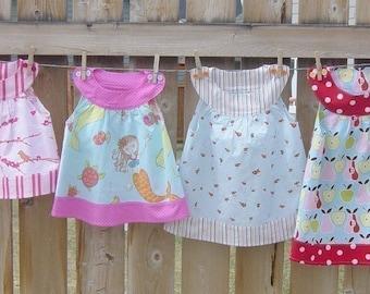 Girls Round Neck Top PDF Sewing Pattern