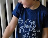 Children Clothing Astronaut Space Tshirt- Kids Alien Monster Shirt Boys