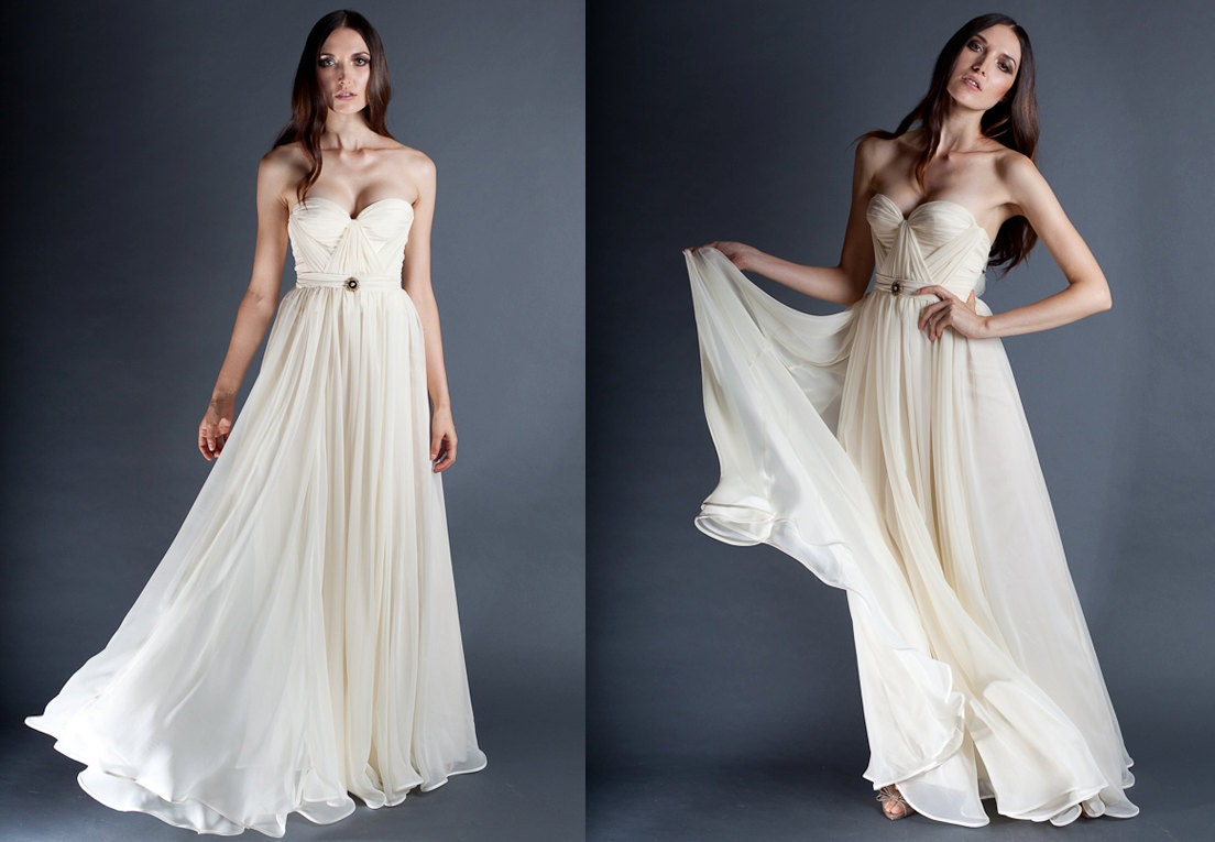 Ivory Wedding Gowns: Unavailable Listing On Etsy
