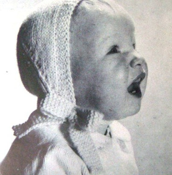 Vintage 40s 50s Baby Knitting Pattern Booklets Patterns for Your Newborn Knit a Layette and More