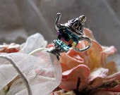 Alice's Whimsical Teapot Victorian Hatpin