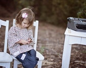 Childrens Girls Peasant Blouse by Kait Emerson Designs-