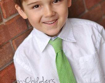boys necktie-toddler necktie- tie- photoshoot prop-wedding necktie-green necktie-birthday tie-boys clothing- modern boys tie-boy accessories