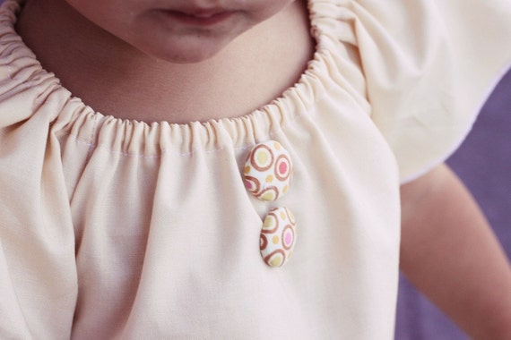 Girs summer outfit, girls peasant top- girls top, girls ivory top, baby top, girls outfit- girls neutral outfit- spring clothing-girls tunic