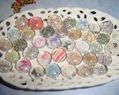 Glass Decorative Pebble Magnets