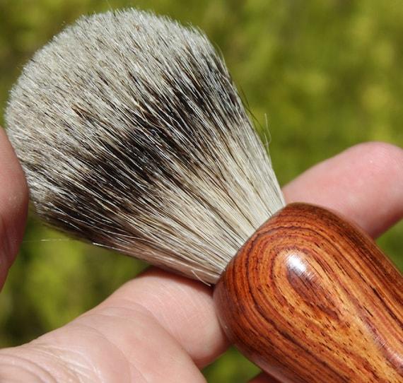 Shave Brush - Honduran Rosewood Silvertip Badger Hair Shave Brush