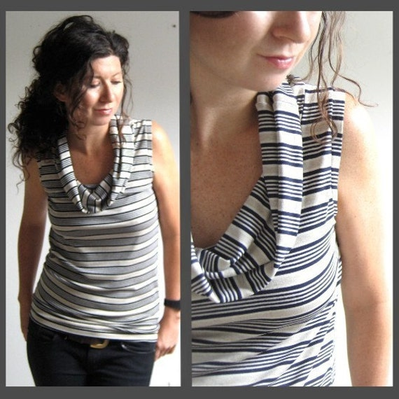 Stripe Cowl- Made to Order