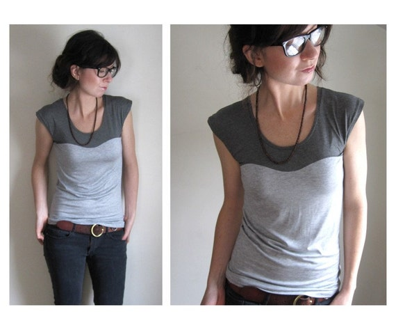 Oscillate Shirt - Grey on Gray  - Made to Order
