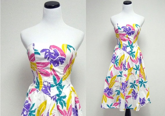 HAWAIIAN PUNK dress . size  3 . xs