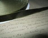 5/8 Olive Green Velvet Ribbon