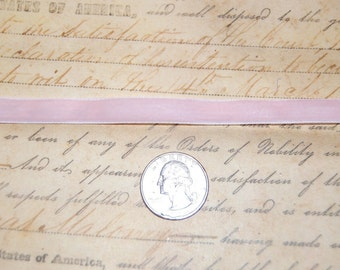 Sweet Baby Pink Velvet Ribbon 3/8 wide