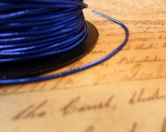 Metallic Royal Blue Elastic Cording