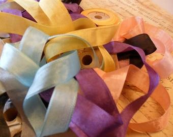 20 Yards any combination of Vintage Seam Binding Ribbon