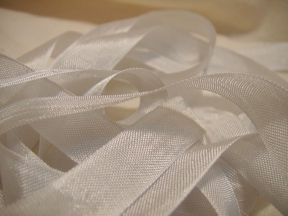 dove gray vintage seam binding ribbon