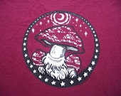 Night Mushrooms under the Moon shirt