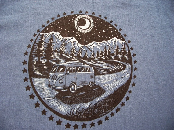 VW Bus in the Mountains shirt