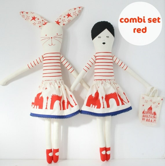 combi set red
