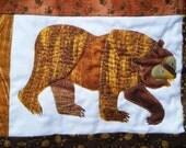 brown bear purse