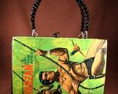 Tarzan - A jungle themed book purse