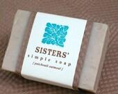 Sisters Patchouli Oatmeal Soap