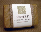 Sisters Oatmeal and Honey Soap