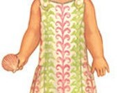 20% Off SALE! Oliver and S PATTERN - Seashore Sundress - Size 5-12