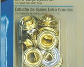 Extra Large EYELET Kit - Gold or Silver - 2 Tools