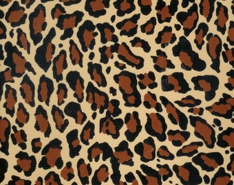 OILCLOTH Fabric - Jaguar