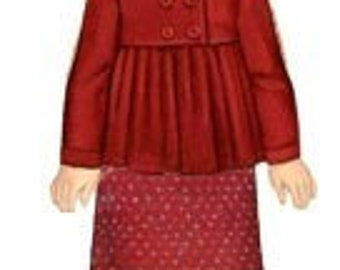 20% Off SALE! Oliver and S PATTERN - Sunday Brunch Jacket and A-Line Skirt - SZ 6M to 3T