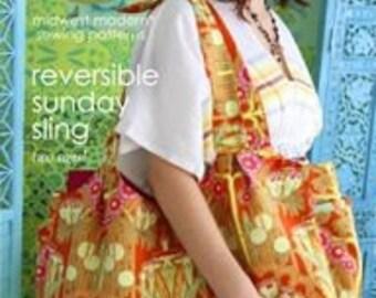 20% OFF! Amy Butler PATTERN - Reversible Sunday Sling