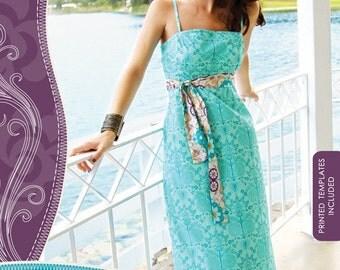 20% Off SALE! Patricia Bravo PATTERN - Maxi Dress