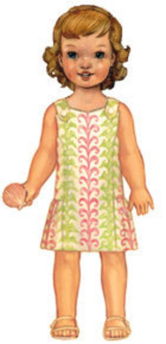 20% Off SALE! Oliver and S PATTERN - Seashore Sundress - Size 6m-4