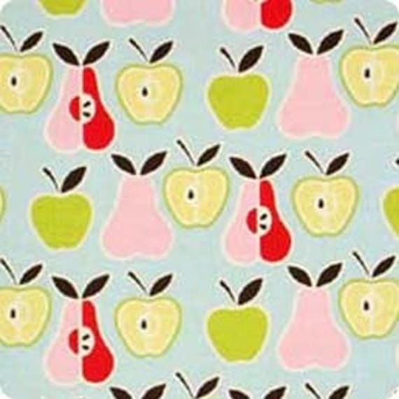 Alexander Henry FABRIC - Apples and Pears - Sky Blue