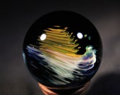 Cresp Flow--- Contemporary Boro Glass Marble by Nathan Snyder