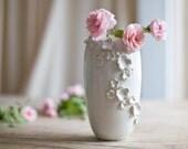 FLORAPALOOZA Vase Pristine White