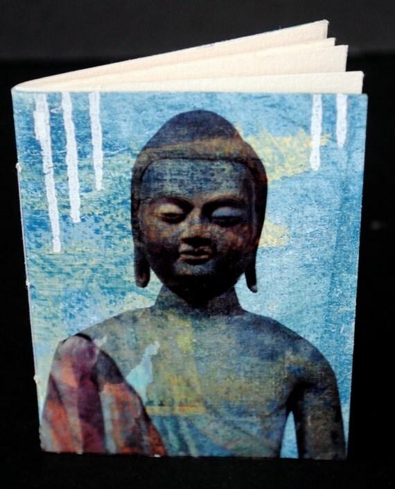 Mixed Media Journal Book - Buddha