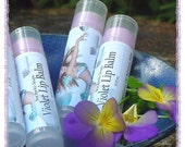 Violet Luxury Lip Balm With Cocoa and Mango Butters PLUS Extra Virgin Coconut Oil