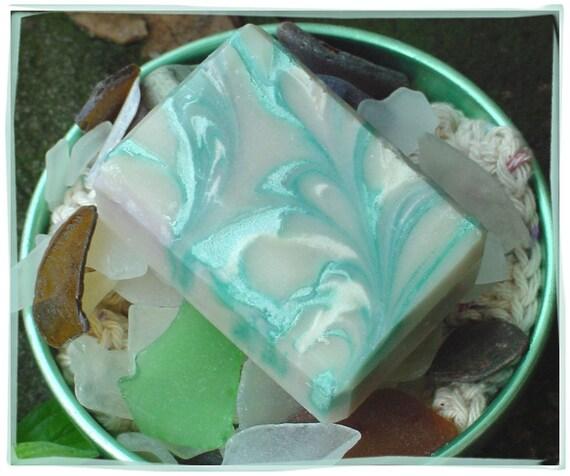 Sea Glass Handmade Soap