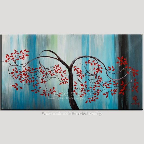 TREE, Decorative art HUGE canvas for contemporary display