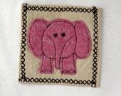 Long Sleeve Pink Elephant Tee