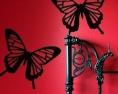 Intricate Butterfly Wall Graphics