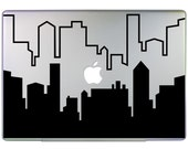 Cityscape Laptop Decal