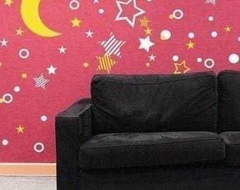 Starry Night Wall Graphics