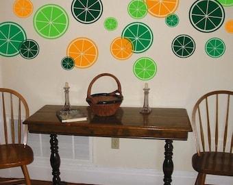 Citrus Wall Graphics