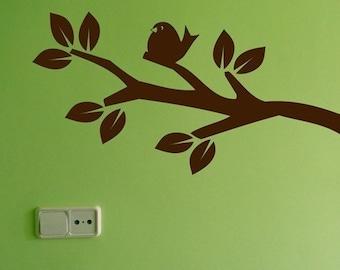 Medium Nature Branch Wall Decal