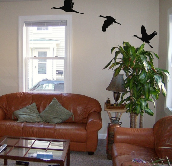 Geese Take Flight Wall Graphics