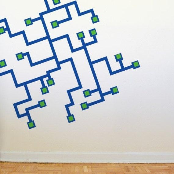 Circuitry Wall Graphics