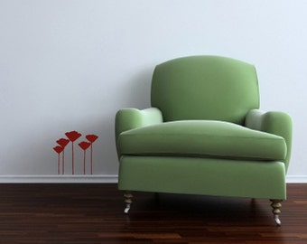 Wall sticker The Poppies new design